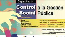 "Capacitación en ""Control Social"""