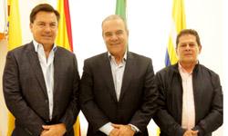 Senador autor del proyecto de Ley estampilla Pro-universidades públicas de Caldas y Risaralda visita la UTP