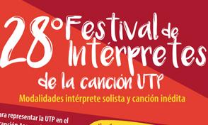 28 Festival de Interpretes de la Canción UTP