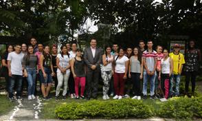 35 jóvenes de áreas rurales de Risaralda se forman en Tecnología en Producción Hortícola en la UTP