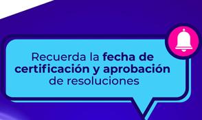 Certificación de Docentes y Monitores de ProyectosCertificación de Docentes y Monitores de Proyectos