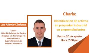 Charla: Identificación de activos en propiedad industrial en emprendimientos