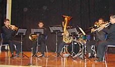 Coffe Brass ofreció una cálida tarde de música de concierto