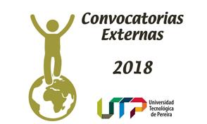Conozca las convocatorias externas vigentes a junio de 2018