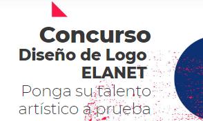 Convocatoria diseño de logo ELANET