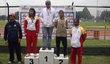 Copa nacional de lanzamientos categoría juvenil