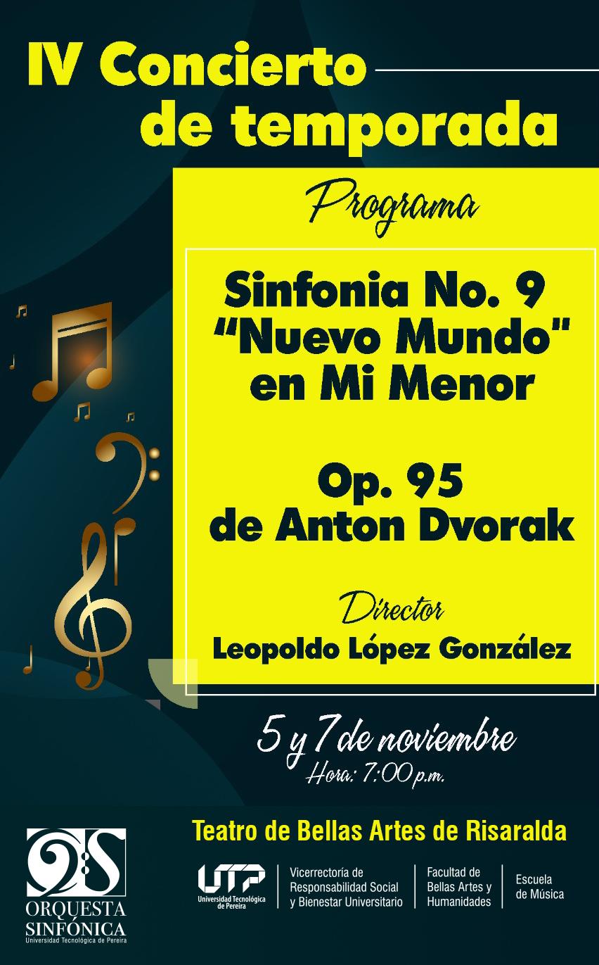 Cuarto concierto de temporada de la Orquesta Sinfónica UTP