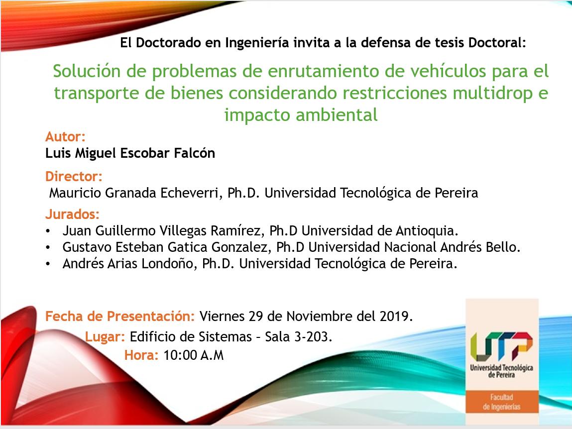 Sustentación tesis doctoral