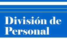 División de Personal