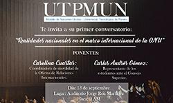 Evento de apertura al primer Modelo de Naciones Unidas de La Universidad Tecnológica de Pereira