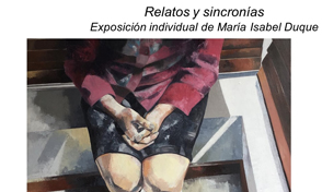 Exposición individual de María Isabel Duque en el Muro Líquido UTP