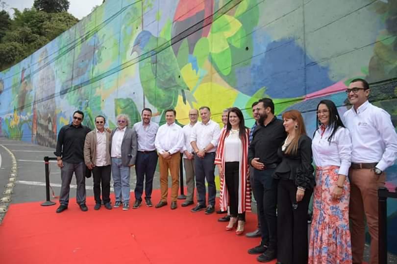 Mural más grande de latinoamerica