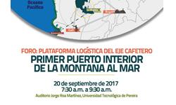 Foro: Plataforma Logística del Eje Cafetero