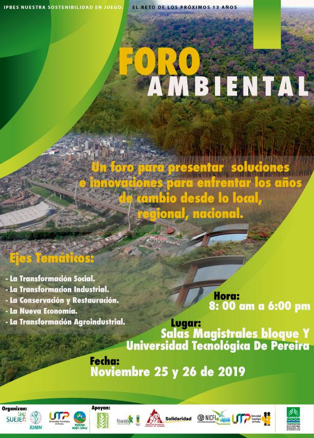 II Foro Ambiental Departamental de Risaralda