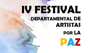 IV Festival Departamental de Artistas por la Paz