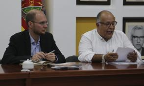 Importantes resultados dejó para la UTP visita del Director académico del Instituto colombo-alemán para la Paz-CAPAZ
