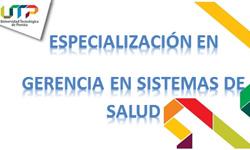 Abiertas  inscripciones para la XVII Cohorte de la Especialización Gerencia en Sistemas de Salud