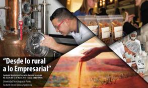 Inscripciones abiertas maestría en Desarrollo Agroindustrial