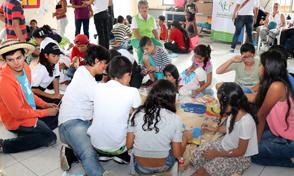 Piensa, Pinta y Participa: movilización de niñas, niños y adolescentes de Risaralda