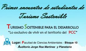 Primer Encuentro de Estudiantes de Administración del Turismo Sostenible