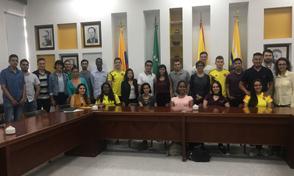 Reunión de Despedida Estudiantes UTP que viajan a realizar intercambio internacional