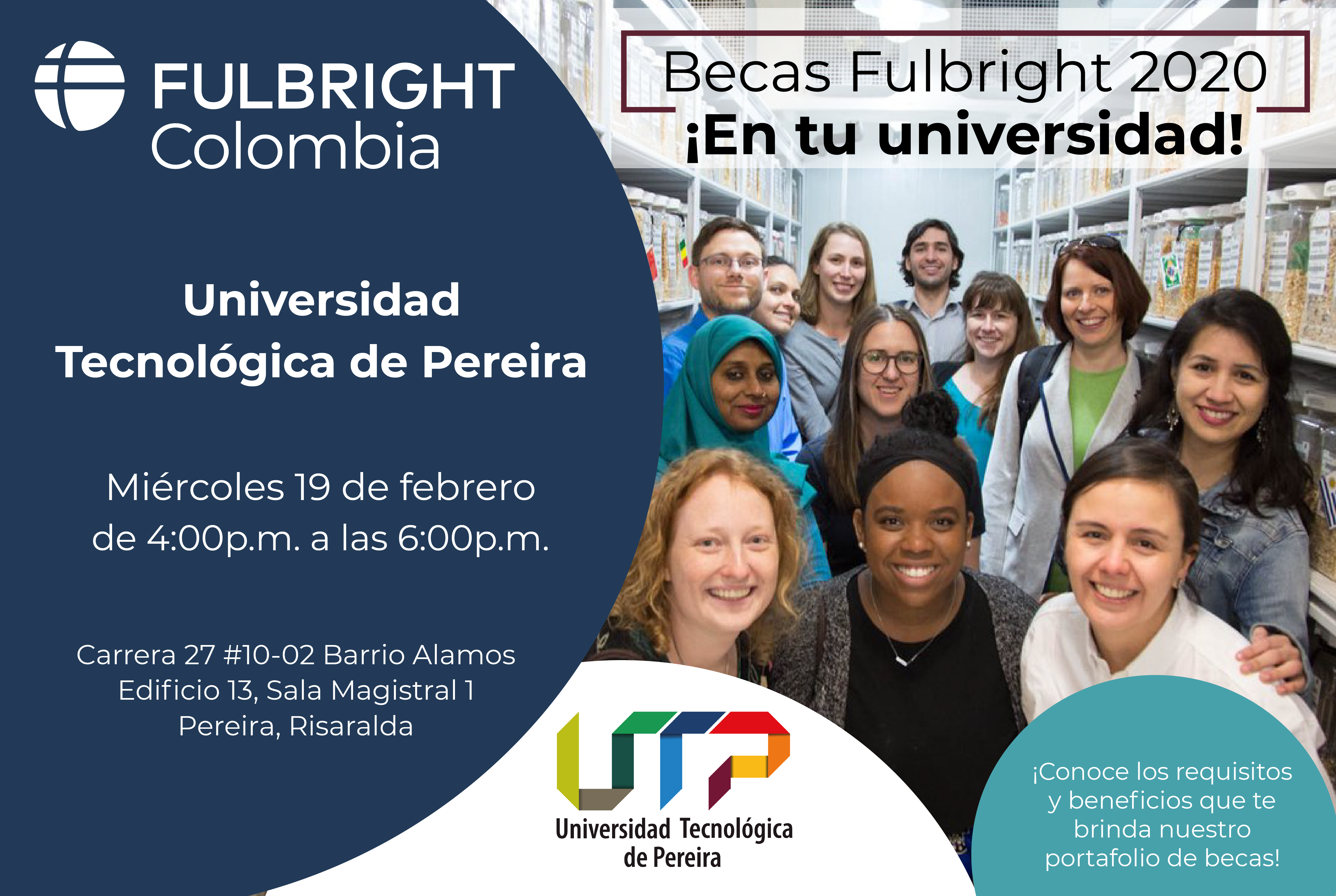 Charla Fullbright Colombia en la UTP