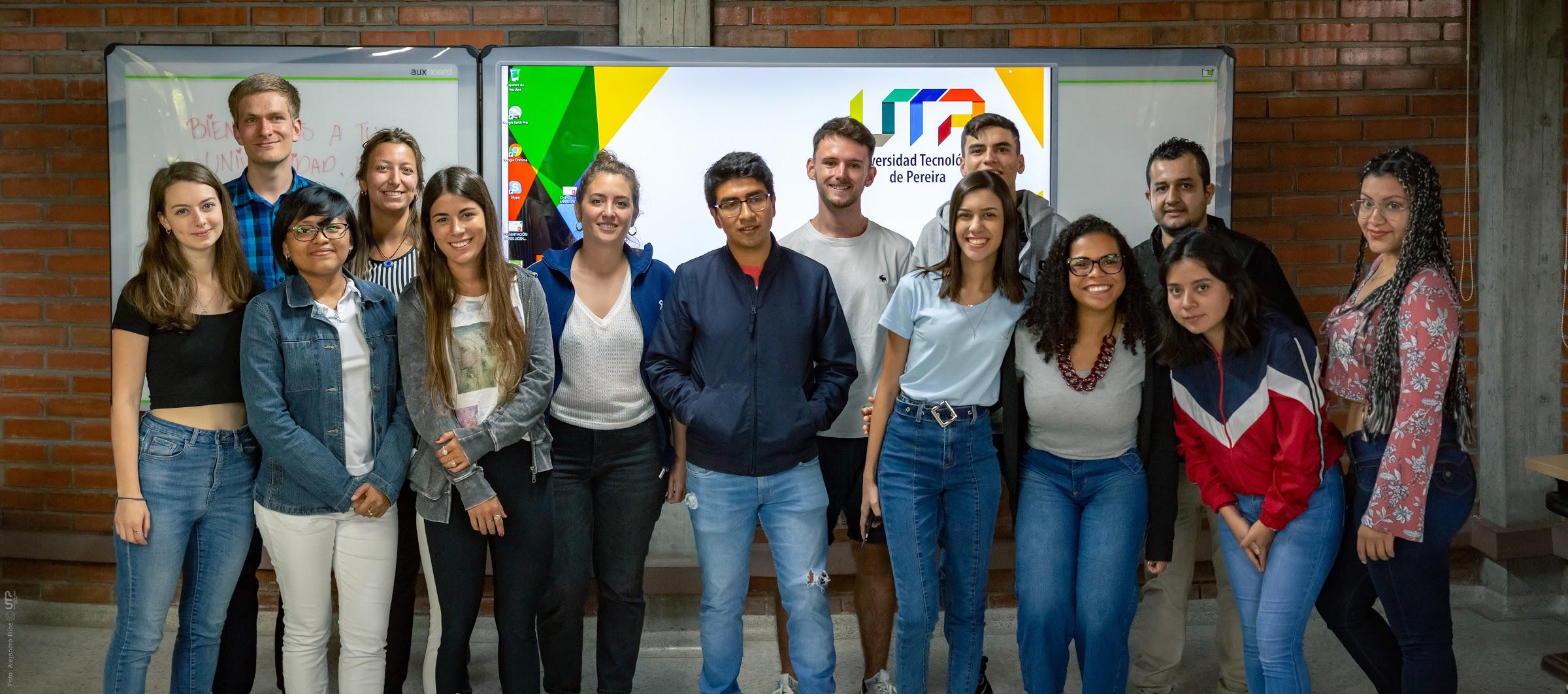 UTP recibió nuevos estudiantes internacionales