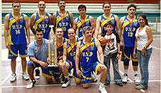 Equipo de funcionarios UTP campeón del Zonal Centro