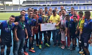 UTP Campeón del torneo de fútbol Telecafé