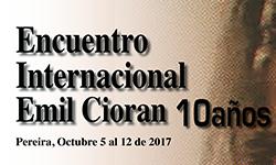 X Encuentro Emil Cioran 2017