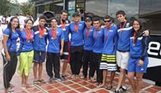 UTP en Zonal Universitario de Natación