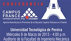 Conferencia Campus France