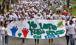 En video: UTP moviliza alrededor de la Paz