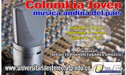 Colombia Joven, música andina en el país