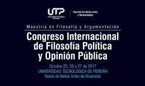 Congreso Internacional de Filosofía Política y Opinión Pública