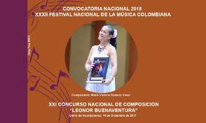 Convocatoria Nacional del XXXII Festival Nacional de la Música Colombiana