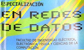 Especialización en Redes de Datos