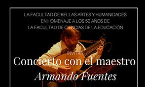 Concierto de Música Cortesana con el Maestro Armando Fuentes