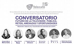 Conversatorio: Futuro de la Televisión Pública