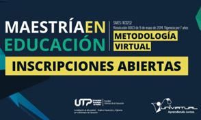 Curso introductorio Maestría en Educación ¡Ya iniciamos!