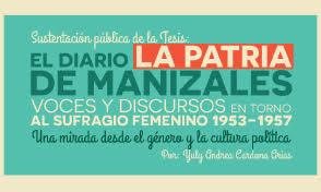 Invitación a Sustentación pública de Tesis Maestría en Historia