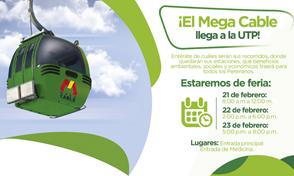 Feria Mega Cable se toma la UTP