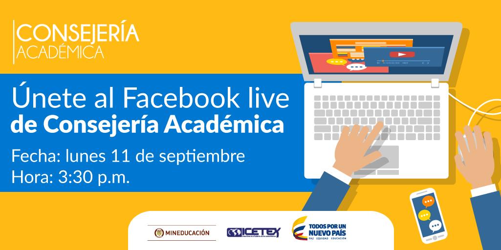 """""""Consejería Académica""""  ICETEX"""