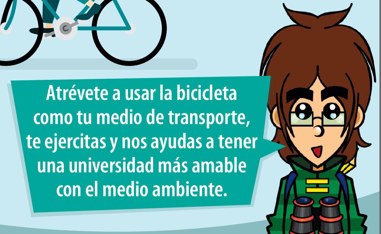 El Día Sin Carro en Pereira ven a la UTP en Bici