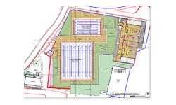 Piscinas y áreas complementarias nuevas obras en la UTP