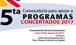Instituto de Cultura presentará Convocatoria de Concertación Municipal 2017