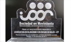 Licenciatura en Bilingüismo con énfasis en Inglés recibió reconocimiento