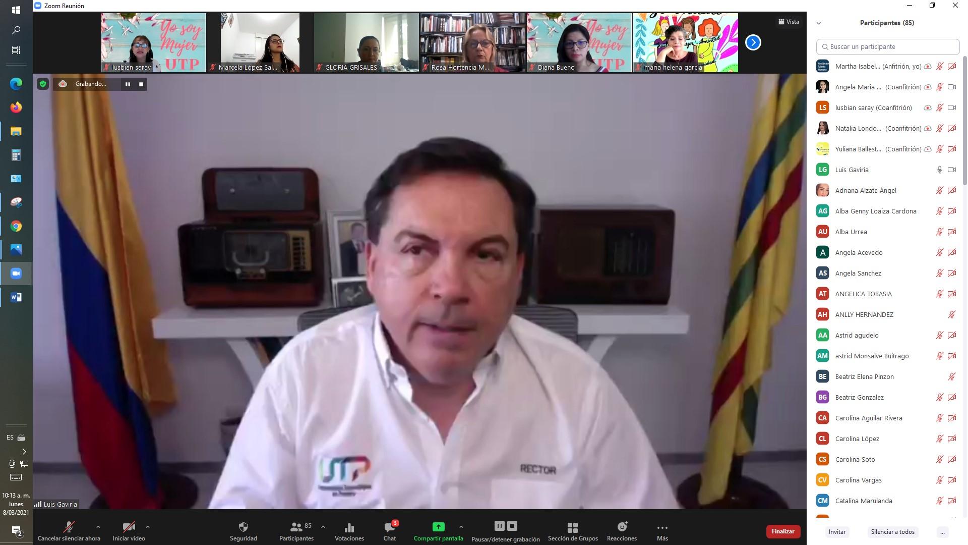 Rector UTP invita a inscripciones del Representante de Egresados
