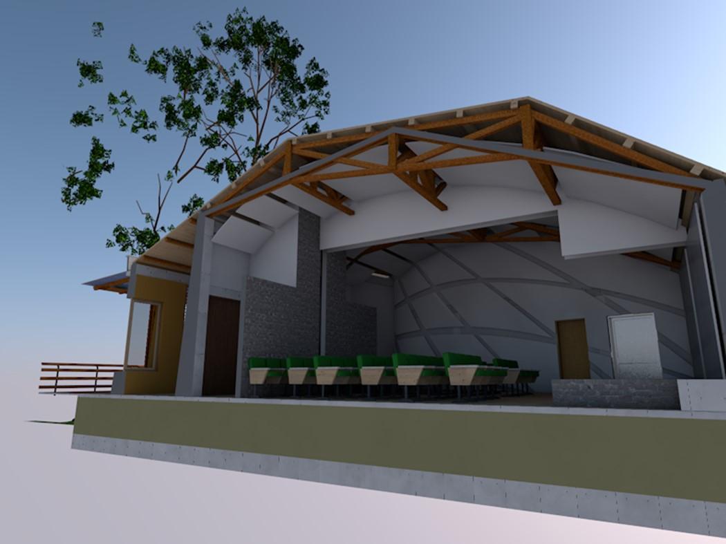 Sala Audiovisuales Jardín Botánico