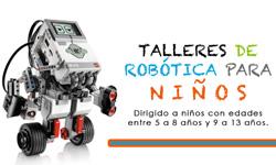 Talleres de Robótica para niñ@s